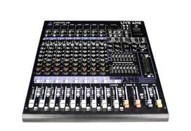 Consola Sonido Audiolab Live AN8 USB!!! 8 Canales Mic / Linea + 1 Canal Stereo + MP3!!!