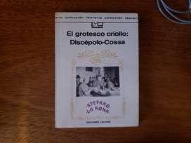Libro El Grotesco Criollo: Discepolo-cossa Colihue Stefano