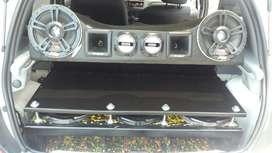 Instalación de Sonido para Autos.
