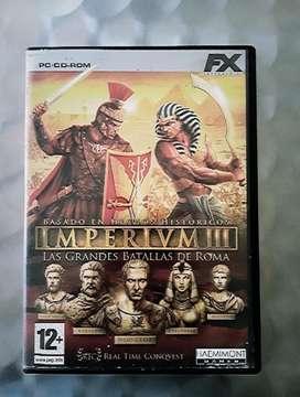 Imperium 3 Juego para Pc Original