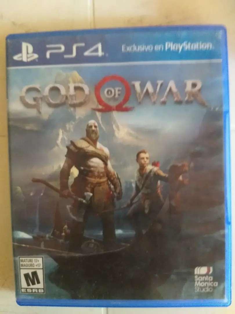 Se vende juego dios de la guerra ps4