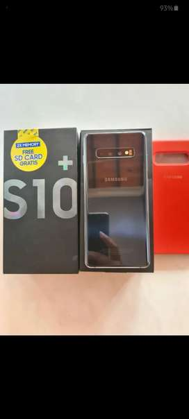 Vendo Samsung galaxy S10 plus con factura, caja y sus accesorios.