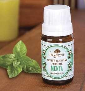 Aceite puro de menta Biogreen