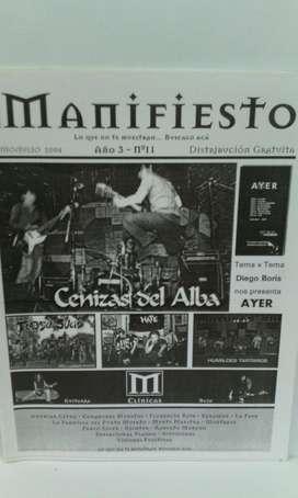 Fanzine Manifiesto nro.11 2004