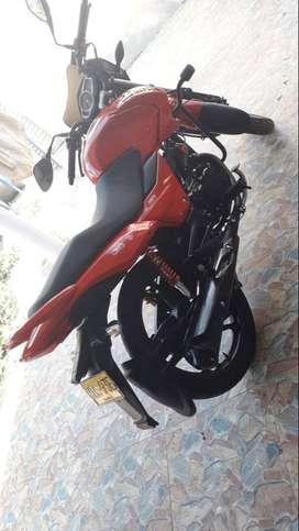 Se vende moto por motivo de viaje