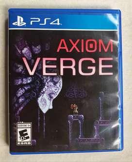 Axiom Verge Playstation 4 PS4