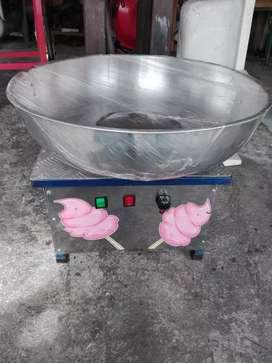 Maquina algodón de azúcar eléctrica usada
