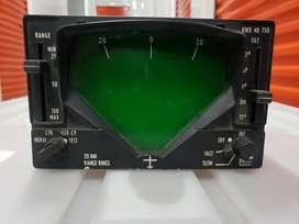 Vendo permuto escucho King Kwx 40 Tso Weather Radar Indicator System Unit Ki240 funcional certificado avaluado en 900usd