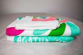 set de 3 toallas Agatha Ruiz