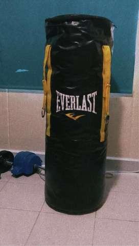 Saco de Boxeo Everlast - 1 metro - 50 Kg