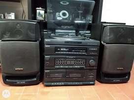 Equipo de sonido Sony clásico