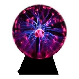 Làmpara De Plasma Grande 110 Voltios 16 Cms De Diàmetro
