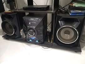 Equipo de sonido Sony mhc-gpx55