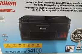 Impresora cannon G4100