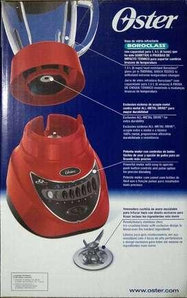 Licuadora Oster BLSTEG7805R 12 velocidades