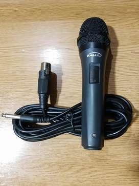 Microfono Alambrico Kalley XLR Especial para Eventos y Karaoke