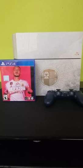 VENDO PS4 EDICION DESTINY + FIFA 20