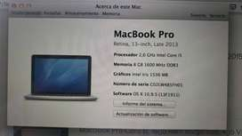 Mac MacBook Pro 13.3 pulgadas.