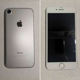 IPHONE 7 PLATEADO 128gb EXCELENTE ESTADO