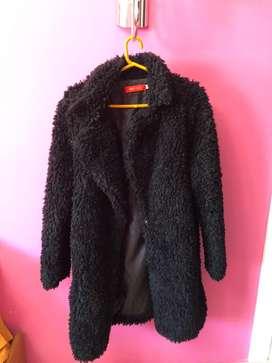 Saco de abrigo peluche, usado segunda mano  Bahía Blanca, Buenos Aires