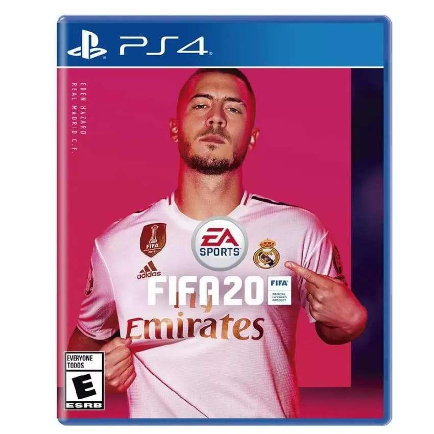 FIFA 20 PS4 nuevo y sellado!! 0
