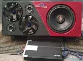 Sonido para auto Planta de 2000w (car audio)