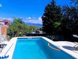 Alquiler Temporario Mensual de Casa con pileta en Villa Carlos Paz
