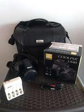 Camara Digital Nikon COOLPIX L840