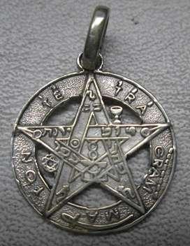 Dije en plata tetragrammaton