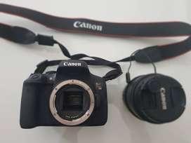 CAMARA CANON PROFESIONAL REBEL T6i + Lente 18-55 + Memoria de 32 GB