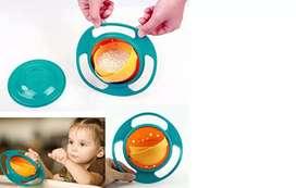 Plato antiderrame 360 para niños, bebes