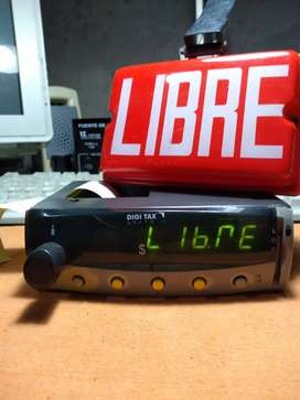 Reloj Taximetro para Taxi o Remis con Tiquetera