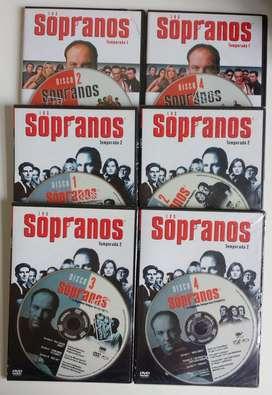 ORIGINALES - DVD The sopranos SERIE TV originales - varias temporadas  CDJESS musica y pelis