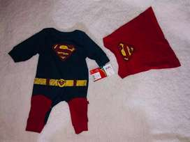 Enterizo Superman para bebe Newborn