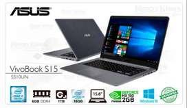 Laptop ASUS VivoBook Core i7 + Video Nvidia 2GB