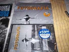 CURSO DE FOTROGRAFIA CON VIDEO DVD MÀS REVISTA