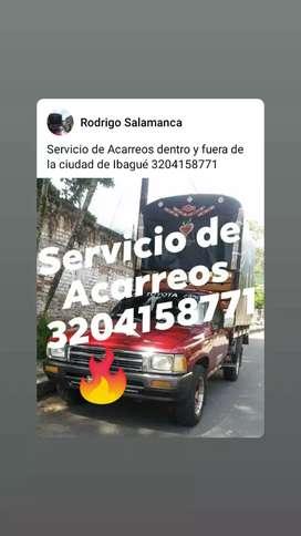 Servicio de Acarreos en Ibagué