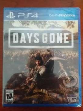 Juego de PS4 Days Gone