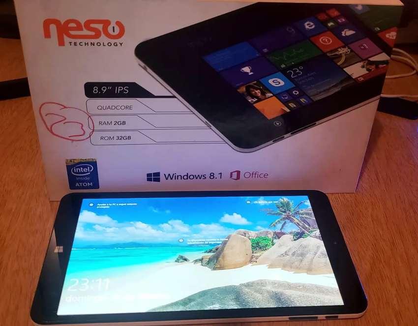 """Tablet Neso 8,9"""" Intel Atom/Win 10/ 32gb 0"""