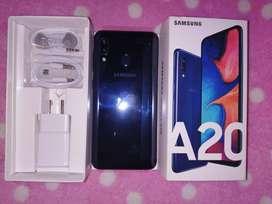 Samsung A20 Autentico Impecable todo perfecto Aparte A30 Dual sim edición 64GB Optimo en Caja solamente los Vendo