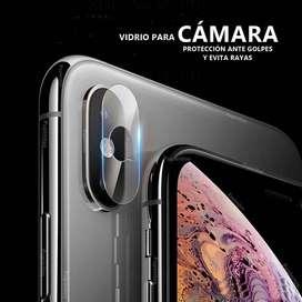 Vidrio templado para Camara  Iphone Xr Xs Max