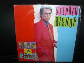 VINILO ESTEPHEN BISHOP BOWLING IN PARIS, USA