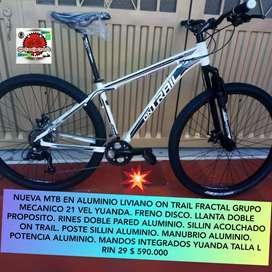 Bicicletas MTB Nuevas