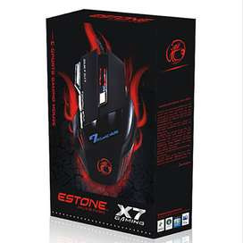 Mouse Gamer X7 Usb 7 Botones Optico Luz Led Multicolor