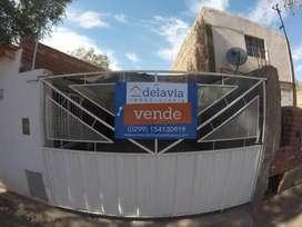 Vendo casa de dos dormitorios en Rincón de los Sauces con Escritura.