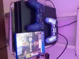 Play station 4 1 tb con control y juego