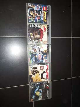 Vendo todos estos juegos de ps3 por $1500