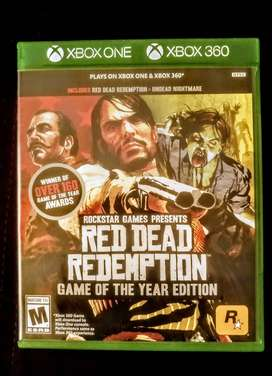 red dead redemption 1 xbox one - 2 cds