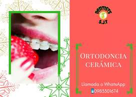 Ortodoncia cerámica estética brackets