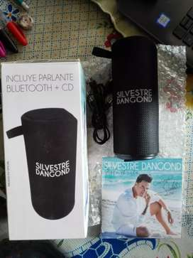 Vendo parlante bluetooth + CD
